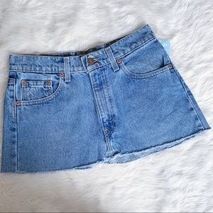 NWT Levi's Denim Mini Skirt Size Small Delias
